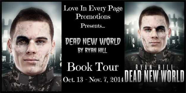 Dead New World Book Tour Button
