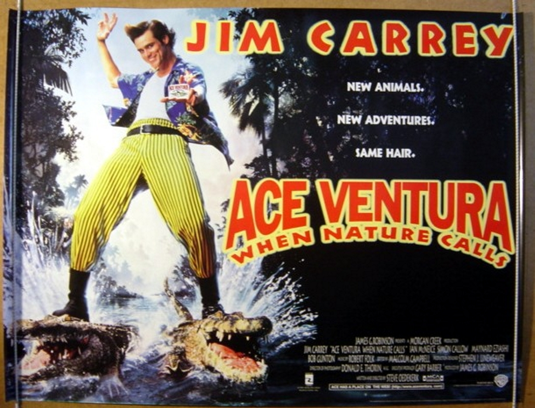 Ace Ventura: When Nature Calls | Ink of Blood