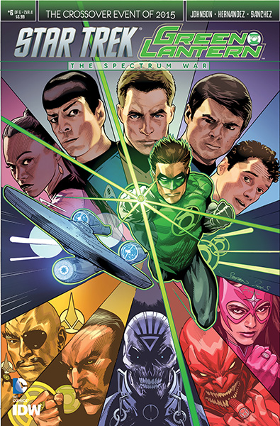 Star Trek and Green Lantern The Spectrum War