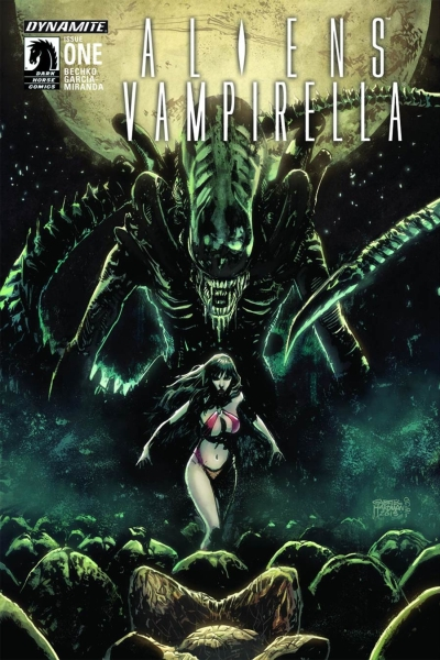 Aliens Vs. Vampirella