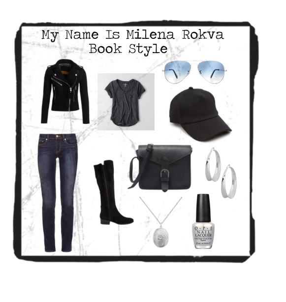 My Name is Milena Book Style