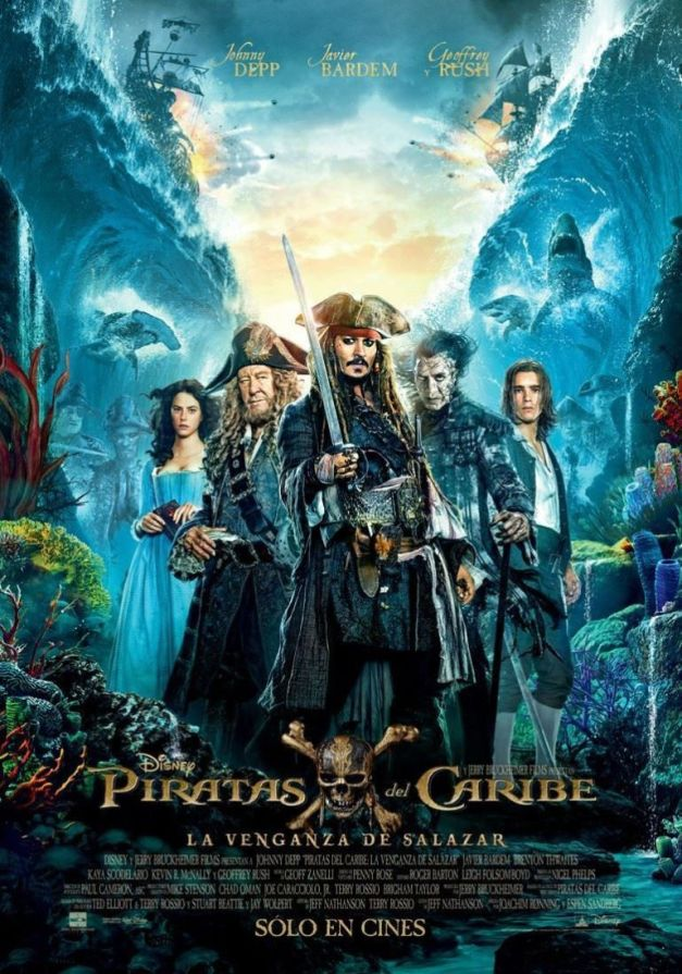 Pirates of the Caribbean Salazar's Revenge